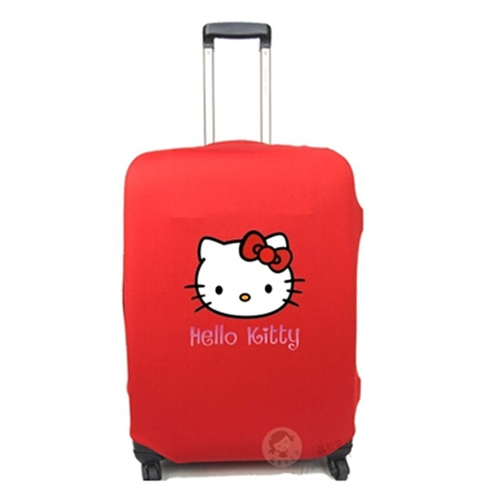 8acc8b6415cf DEETTO Travel luggage Cover Suitcase Protector Stretchy 70cm ~ 80cm ...