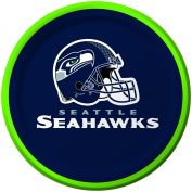 Creative Converting 8 Count Seattle Seahawks Paper Dessert Plates