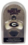 NCAA Georgia Bulldogs Bottle Opener Metal Retro Wall Mount, Small, Metallic with Team Colour