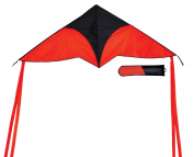In the Breeze Red Delta Travel Kite, 140cm