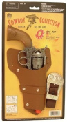 Cowboy Collection Big Tex Cap Pistol and Holster Set for Kids