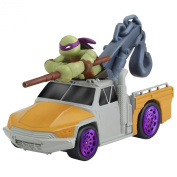 Teenage Mutant Ninja Turtles T-Machines Donatello in Service Truck Diecast Vehicle