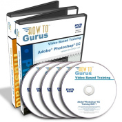Adobe Photoshop CC Tutorials plus Adobe Illustrator CC Training all on 5 DVDs over 32 Hours in 538 Video Lessons. Computer Software Video Tutorials