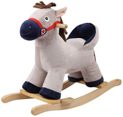"""Knorr-Baby 60062 """"Max"""" Rocking Pony with Backrest"""