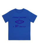 """""""Cunningly Desguised as a 10 Year Old"""" - Unisex Ninja Eyes Birthday T Shirt Gift"""