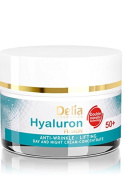 HYALURON FUSION by Delia - 50+ Anti-Wrinkle - Lifting Day and Night Cream Concentrate - 50ml