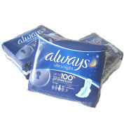 Always Ultra Nights for 100% leakage protection 7 Pads