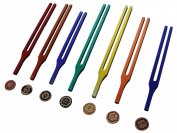 Chakra Tuning Fork With Colour Therapy