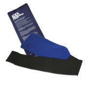 Koolpak Instant Ice Packs x20 & Elasticated Compress Wrap - First Aid Cold Therapy Cold Compress