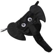 TOOGOO(R)Sexy Men Elephant Underwear Pouch Briefs Thongs Funny G-string-Black