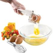 SZTARA EZ Egg Cracker Handheld York & White Separator Kitchen Cooking Tool