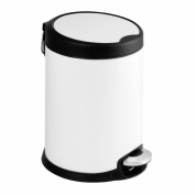 Aero - 3L 5L Stainless Steel Slow Close Pedal Bin Bathroom Kitchen Office