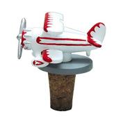 Gifts For Aviators Bi-Plane Cork Bottle Stopper