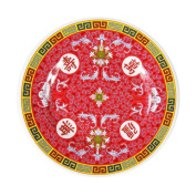 Chinese Melamine Plate - 20cm