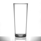 Plastic Premium Pint Glass 590ml | Reuse 100's of times | Virtually unbreakable | Set of 24 | Made in the UK
