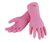 Leifheit 40029 Small Grip Control Household and Kitchen Gloves, Pink