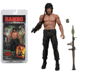 Top Top Anime Club Rambo First Blood Part Ii - 18cm Action Figure - Series 3 (Stallone) Neca