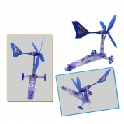 Tonsee® 1PC Build Your Own Wind Powered Car Older Boys Educational Kit Toys