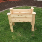 Gronomics EGB 18-34 46cm by 90cm by 80cm Elevated Garden Bed, Unfinished