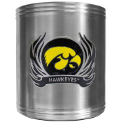 NCAA Flame Style Steel Can Cooler