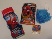 Kids Spiderman Body Wash Gift Set