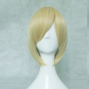 Kuroko's Basketball Kise Ryota Golden Short Cosplay Costume Wig + Free Wig Cap