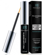 Radha Beauty Pro Lash Growth Serum - Thicker, Longer Eyelashes & Eyebrow Enhancer - Tested Product with No Irritation - Revolutionary Ingredients Giving You Powerful Results