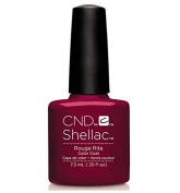 CND Shellac UV Gel Polish - Contradictions - Spring 2015 Collection - 5ml_ROUGE RITE - C90877 **Best Beauty WN**