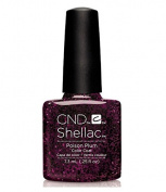 CND Shellac UV Gel Polish - Contradictions - Spring 2015 Collection - 5ml_POISON PLUM - C90859 **Best Beauty WN**