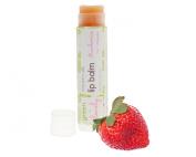 Strawberries -n- Cream, Nature's Silk Lip Balm Botanical Beet Juice Tint Organic Pink Nourishing Shea Ecofriendly