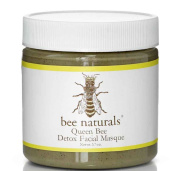Bee Naturals Detox Facial Mask - Detoxify, Clarify and Tighten Facial Skin - Perfect For Congested, Oily or Troubled Face and Neck Skin - Natural Ingredients - Helps Dry Up Blemishes