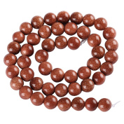 "AAA Natural Gold Sand Gemstone Loose Round Beads 8mm Spacer Beads For Jewellery Making 15.5"" (1 strand) 20GSQ-8B"