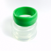 Alamould Moulds Clear Silicone Mould for Round Bevelled Bangle Bracelet
