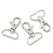 10 Count Lobster Swivel Clasp with D Ring 4.1cm x 3cm