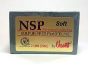 Chavant NSP SOFT - 0.9kg. Professional Oil Based Sulphur Free Sculpting Clay - GREEN