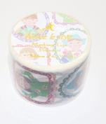 Aimez Le Style Primaute Collection Children of the World in Costumes Washi Masking Deco Tape Wide.