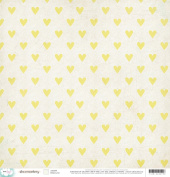 American Crafts Dear Lizzy Documentary Hello Love Scrapbook Paper