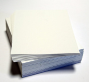 topseller100, Pack of 50 sheets 11x14 UNCUT mat matboard WHITE Colour