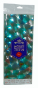 Blue & Silver Holographic Gift Wrap Tissue Paper-2 sheets