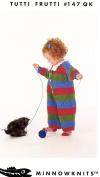 Tutti Frutti - Jil Eaton MinnowKnits 147QK Knitting Pattern Baby / Child Daysuit