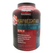Champion Nutrition Heavyweight Gainer 900 Strawberry Shake 7 lbs (3175 g) by Champion Nutrition