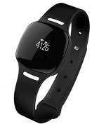 Health o metre nuyu Water Resistant Activity Tracker with Bluetooth 4.0 Technology and Long Lasting Battery