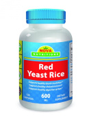 Red Yeast Rice 600 mg 120 Capsules by Nova Nutritions
