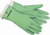 MCR SAFETY CHEMICAL RESISTANT NITRILE GLOVES SIZE MEDIUM PACK OF 6 PAIRS