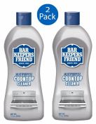 Bar Keepers Friend Cooktop Cleaner 380ml Bottle - Set of 2
