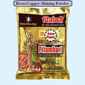 3 Packs of 220G Brass Copper Instant Cleaner Polish Anti-Tarnish (Pitambari)Effective for cleaning copper ,brass idosl,collectibles,figurines sculptures