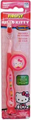 Hello Kitty Travel Kit Suction Cup Toothbrush 1 pcs sku# 1859370MA