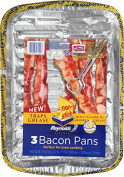 Reynolds Non-Stick Disposable Baking Pan, Bacon, 3 Count