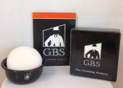 Shaving Soap Ocean Driftwood with Black Ceramic Bowl -- 90ml Soap By Gbs