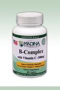 Madina Vitamins - Halal B Complex with Vitamin C 300mg